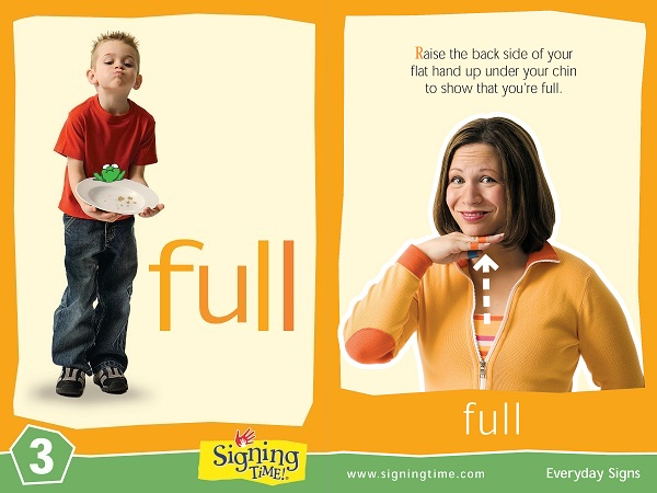 Full Baby Sign Language ASL Dictionary USA