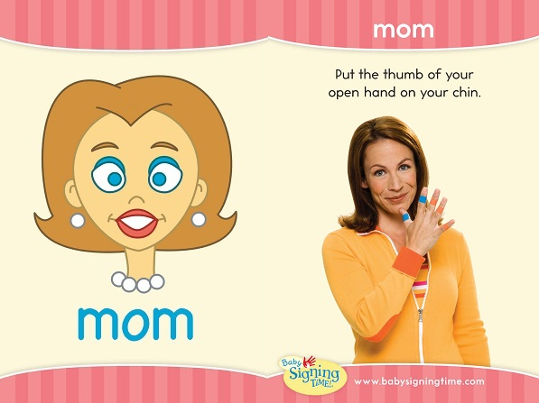 ASL Sign for Mom