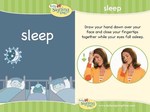 Sign for Sleep